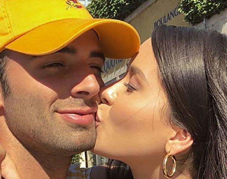 Jencarlos Canela y Danna Hernández
