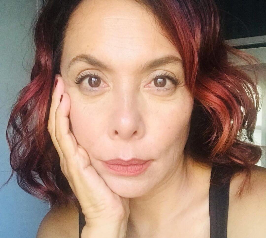 Carmen Madrid es Carmela- Tia de Juana Valentina la venganza de las juanas