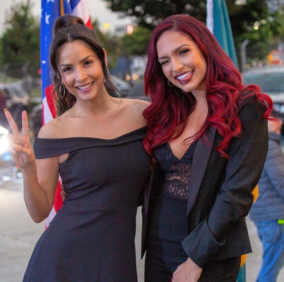 ¿Cómo era la relación entre Carmen Villalobos y Kimberly Reyes en El final del paraíso?